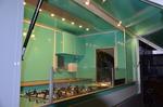 Verkaufsanhänger Grüne Innenfarbe Grundmodel